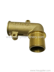 Customized Brass Investment Casting Parts for Fitting Pipe