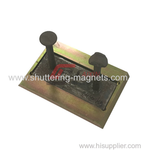 mounting anchor magnetic recess plate precast concrete accessories