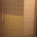 stainless steel mesh rigid golden spray painting