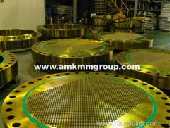 Brass Tube sheet for heat exchanger