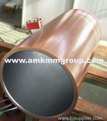 Round copper mould tube