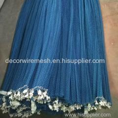 Metal fabric aluminum metal mesh curtain