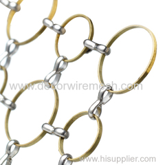 14mm and 10mm ring mix nointed ring mesh