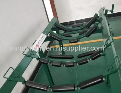 Middle part of sand and grauel roller conveyor line /Conveyor roller brackets/roller frame and roller sets