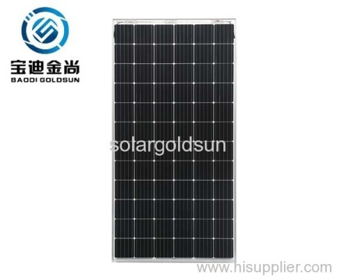 Hot sale Yingli ISO 5BB 36V 345W Monocrystalline Solar Panel for Roof Tiles with Cost Price in Dubai
