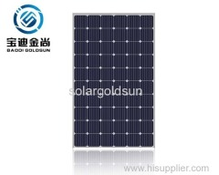 Tier 1 Goldsun ISO14001 5BB 30V 285W Monocrystalline Solar Parts for Factory Use with Factory Price in Germany