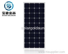 Online shopping Jasolar ILAC 5BB 18V 125W Monocrystalline Photovoltaicplant Solar Panel for Industry with Black or Silve