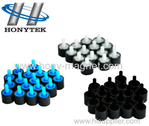 Bonded magnetic & assembly for rotor