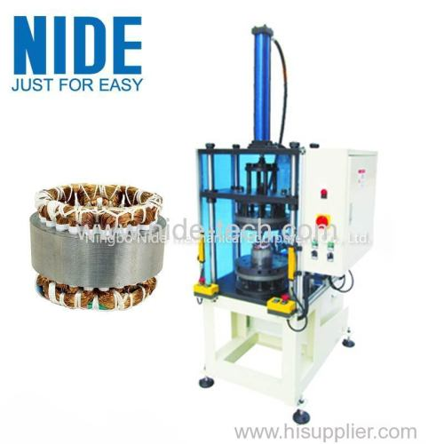 Automatic stator coils expansion and forming machine