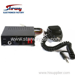 100W or 150W Car Siren Speaker electronic Siren amplifier