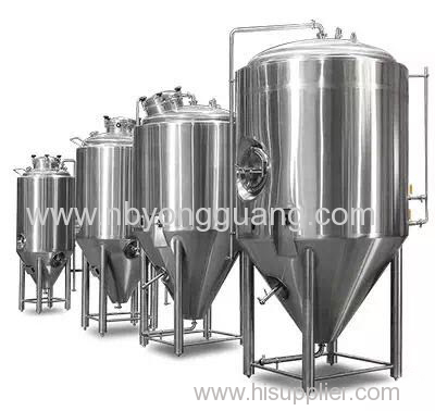 Features of yongguang Fermentation Tanks