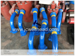 Wellhead Elbow 90D and 45D