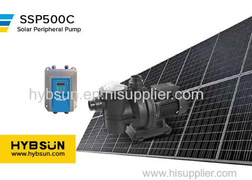 SSP|Solar Swimming Pool Pump|Max Flow 17 m3/h|Max head 15m|DC72 solar water pump|500W solar swimming pool pump