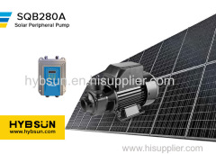 SQB|Solar Peripheral Pump|Max Flow2.2m3/h|Max head 35m|DC24 solar water pump|280W solar swimming pool pump