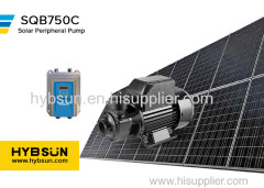 SQB|Solar Peripheral Pump|Max Flow3m3/h|Max head 60m|DC72 solar water pump|750W solar swimming pool pump