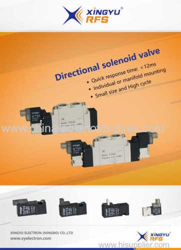 Directional Solenoid Valves Xy-5120