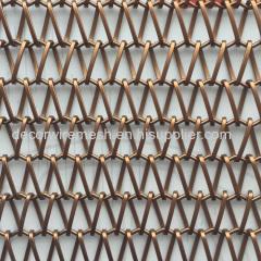 Spiral stainless steel / steel mesh divider