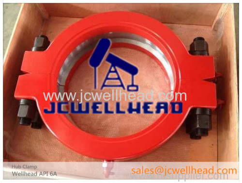 API 16A Hub Clamp with lifting Eyes