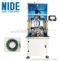 Servo needle winding machine BLDC motor stator coil winding