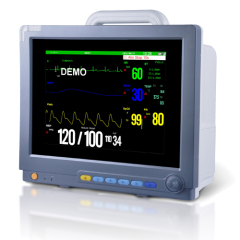 "15"" high resolution color TFTPortable patient monitor"