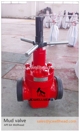 API 6A Wellhead Manual Mud Gate Valve