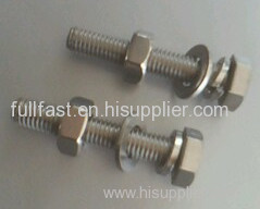 STAINSTEEL HEAX BOLTS WITH NUTS