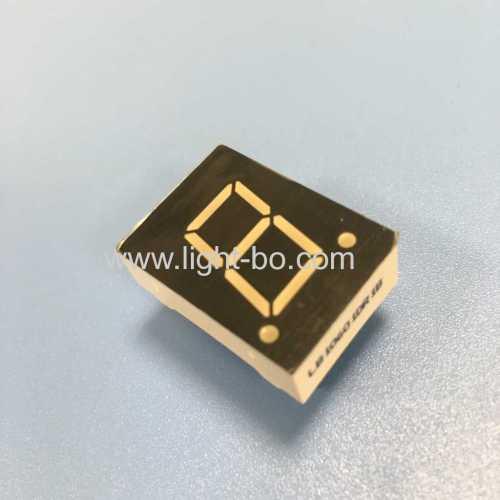 Super red 0.6 common cathode Single digit 7 segment led display for digital numeric indicator