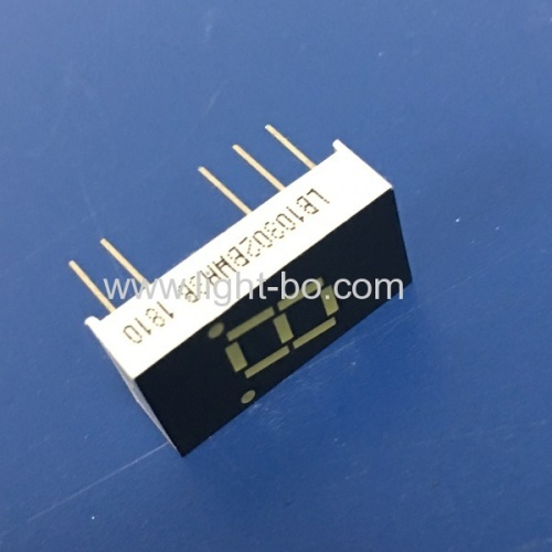 Ultra white 0.3inch single digit 7 segment led display common anode for electronic control boards