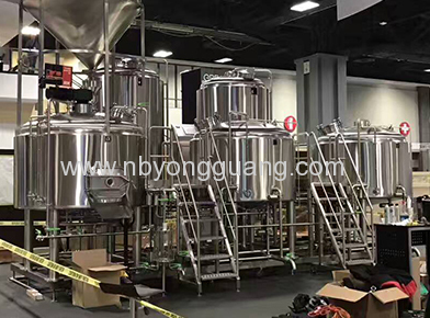 Large Beer Brewing Equipment