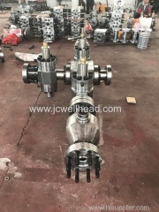 Divert Manifold with hydraulic gate valve