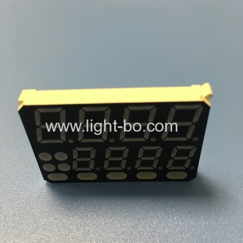 Customized Multicolour 8 Digit 7 Segment LED Display common anode for Temperature Controller