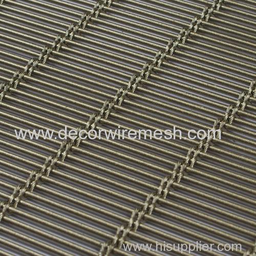 architecture woven mesh drapery