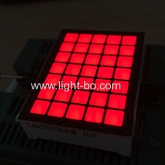 5*7 square dot matrix ; 5 x 7 dot matrix square ; 5 * 7 square led dot matrix
