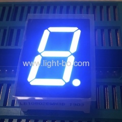 "Ultra white 0.8"" Common aonde single digit 7 segment led display for instrument panel"