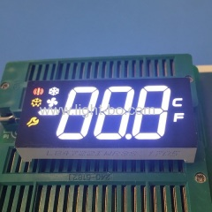 refrigerator led display;multicolour led display;refrigerator; temperature display;7 segment;led display