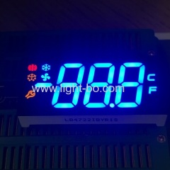 multicolour led display;multicolour 7 segment;customized led display;refrigerator display