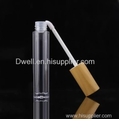 Natural Bamboo Cap Empty Lip Gloss Tube
