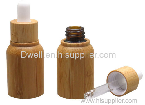 Natural Bamboo Essential Oil Dropper Bottle