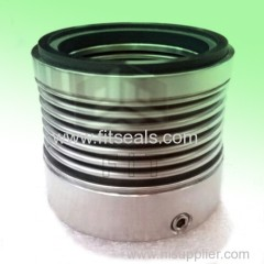 Replacement of Burgmnn MF95N metal bellow seal