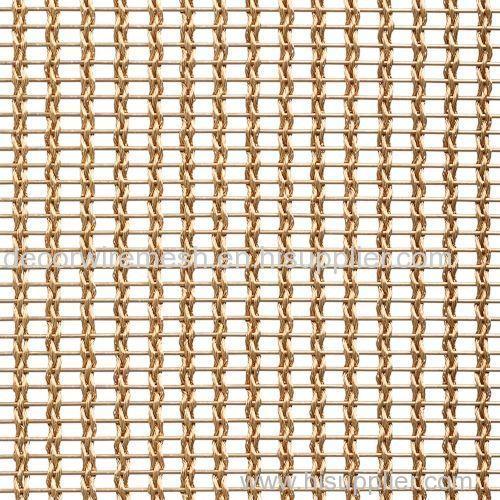 Brass Mesh Weaving