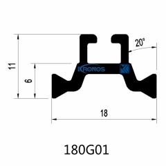 18mm Heat Insulation Polyamide Strips for Aluminum Windows & Doors
