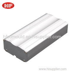 Customized aluminum extruded profile enclosure for electronic instrument