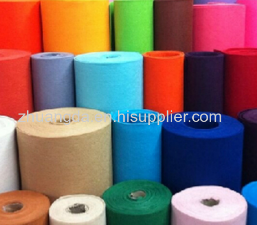 Color felt non-woven needled chemical fiber felt customized interior decoration sound insulation felt