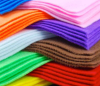 Color felt non-woven needled chemical fiber felt customized interior decoration sound insulation felt