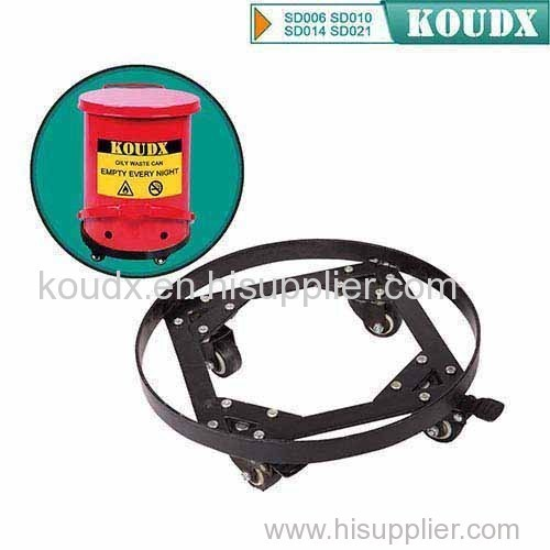 KOUDX Steel Dolly for Oily Waste Can