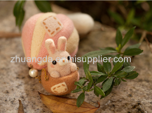 Pure wool pendantwool toyhandicraft