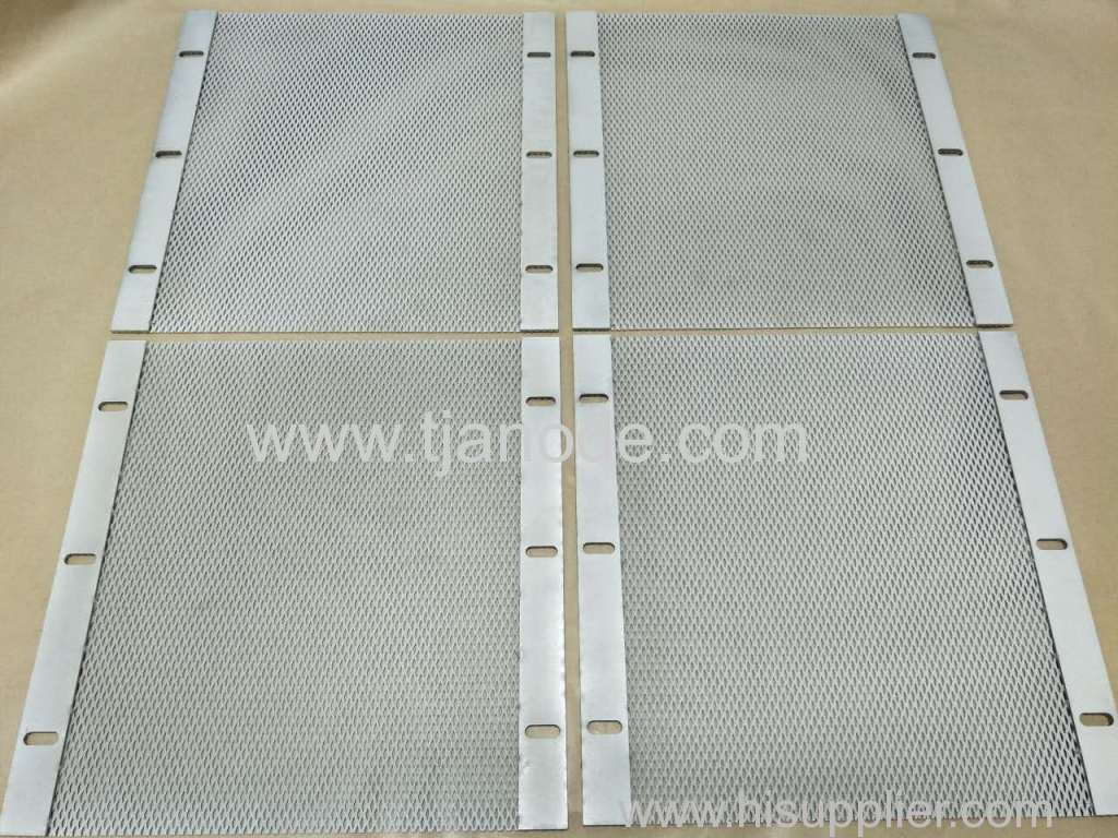 Platinized Anodes for Hard Chrome Plating/Potable Water Treatment/Disinfection of Fruits and Vegetables