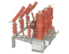 ZW32D-12/630-20 HV vacuum breaker with manual isolator