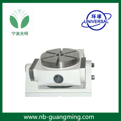 TK15 series manual-tilting NC rotary table