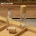 glass essential oil bottle eye cream 15ml bamboo glass roll on bottle